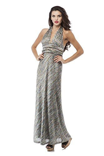 Sexy Uniques Missoni Full Length Halter Dress