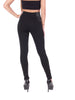 High Waisted Thick Leggings Dress Pants Jeggings with Side Elastic