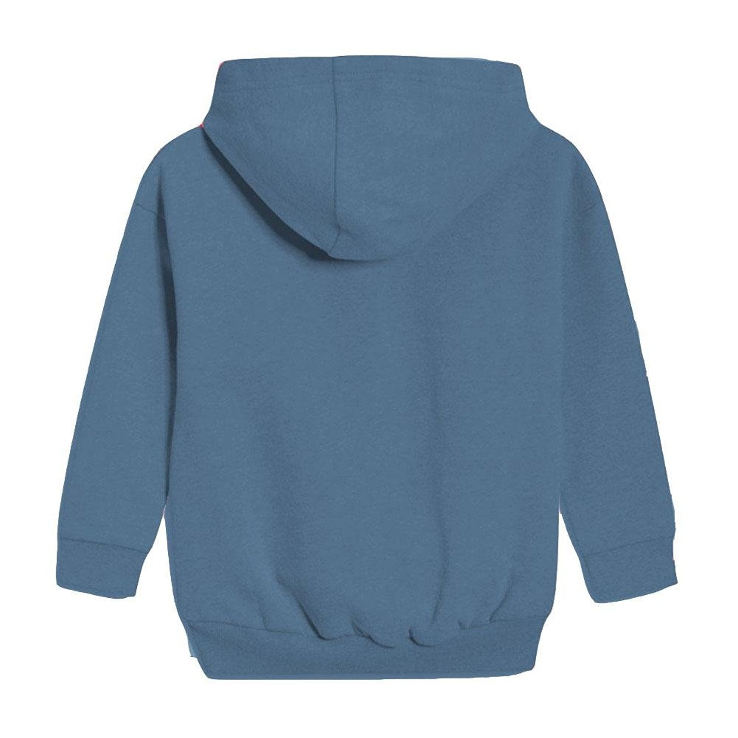 Khanomak Kids Girls Two Front Pocket Zip-Up Hoodie Sweater Hoody Hooded Jacket