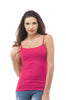 Cami Camisole Built in Bra Adjustable Spaghetti Strap Tank Top