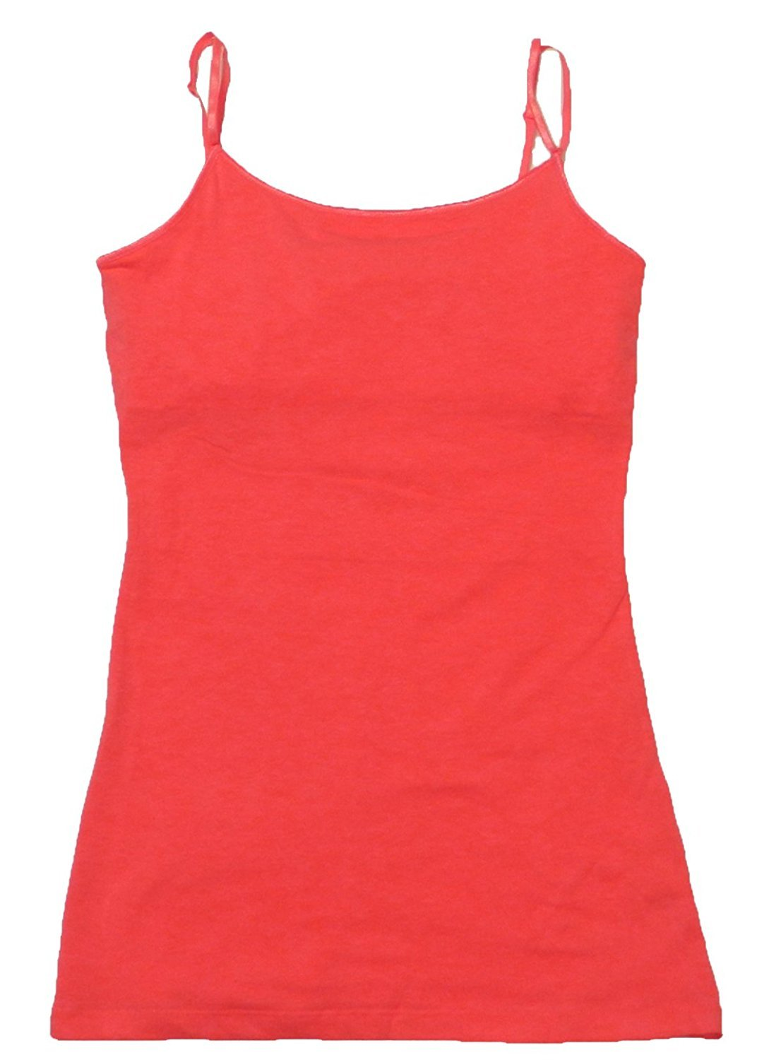 Cami Camisole Built in Shelf BRA Adjustable Spaghetti Strap Tank Top