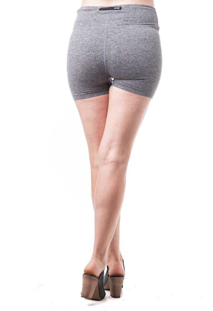 Plain Active Wear Yoga Shorts