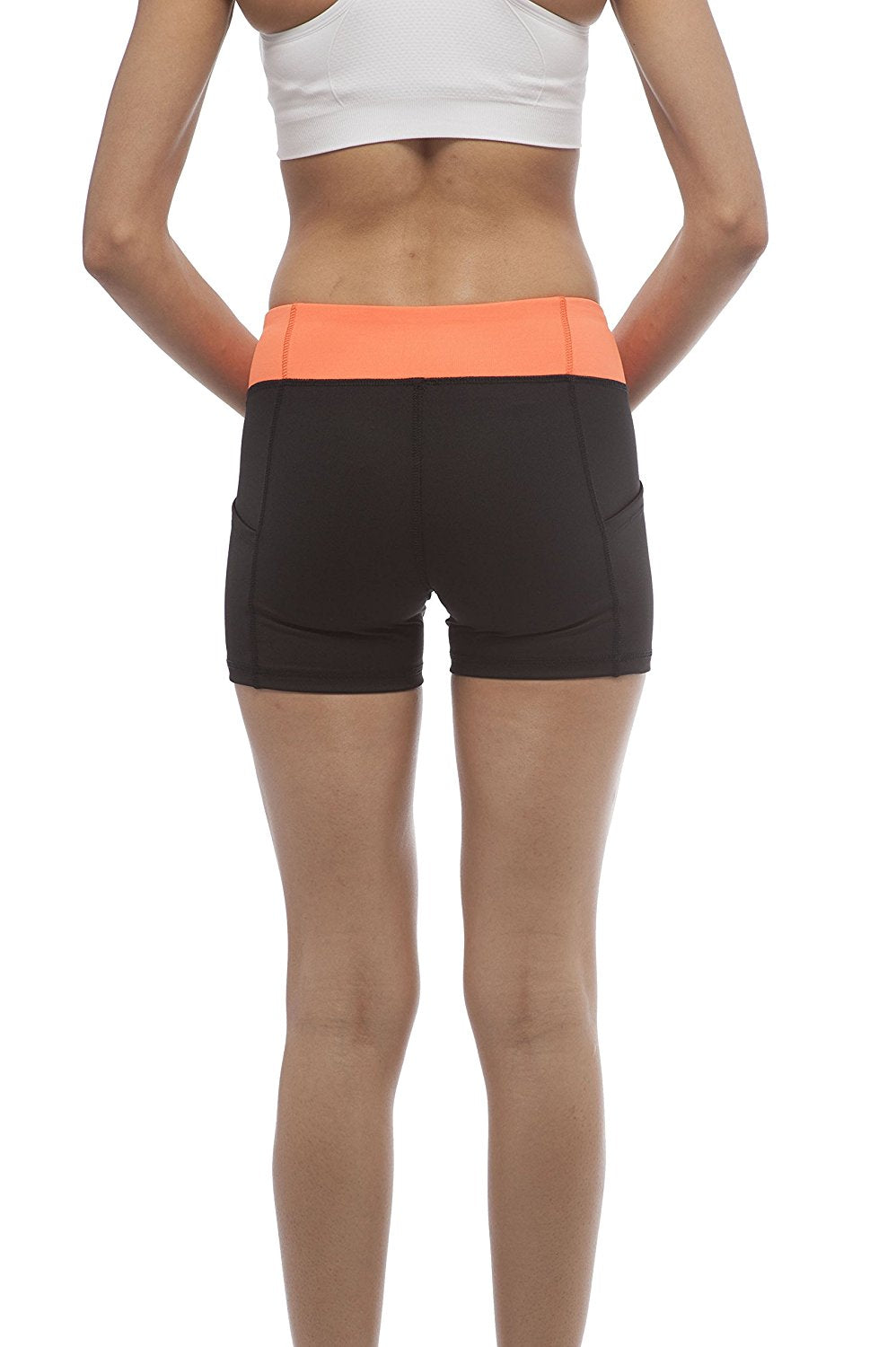 Hollywood Star Fashion Solid Plain Active Wear Bicycle Shorts