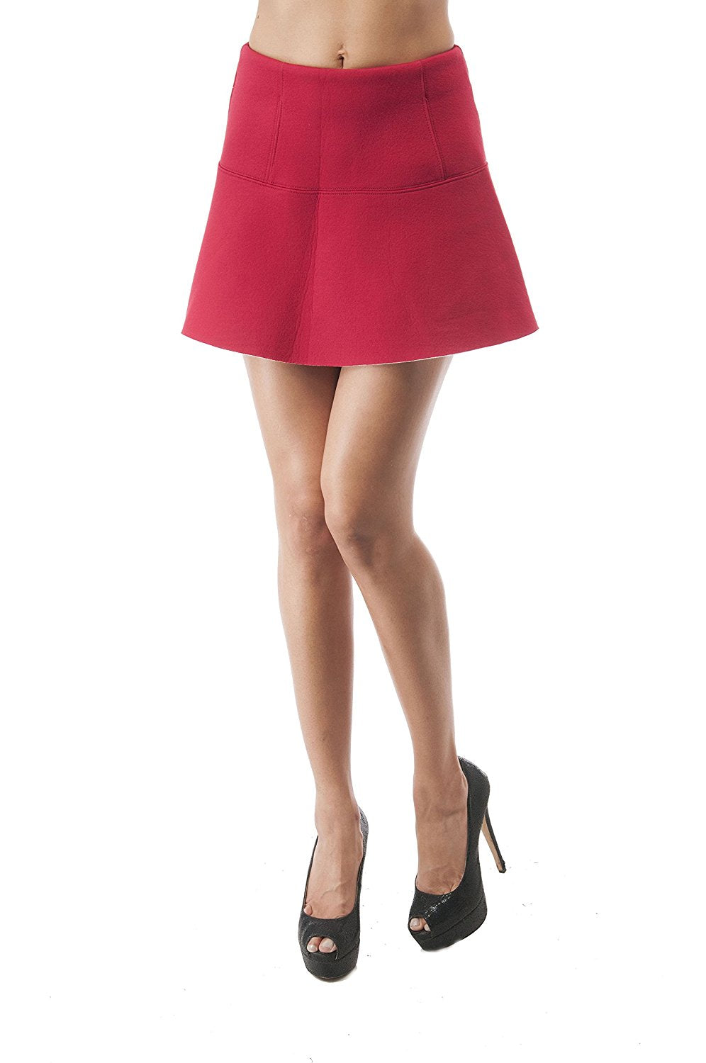 Hollywood Star Fashion Pleated Circle Mini Skater Skirt