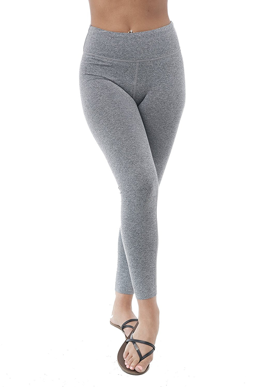 Khanomak Long Athletic Active Wear Gym Basic Yoga Work Out Pants Leggings