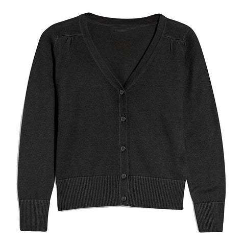 Khanomak Kids Girls V Neck Cardigan Sweater (Sizes 3T- 14 Yrs)