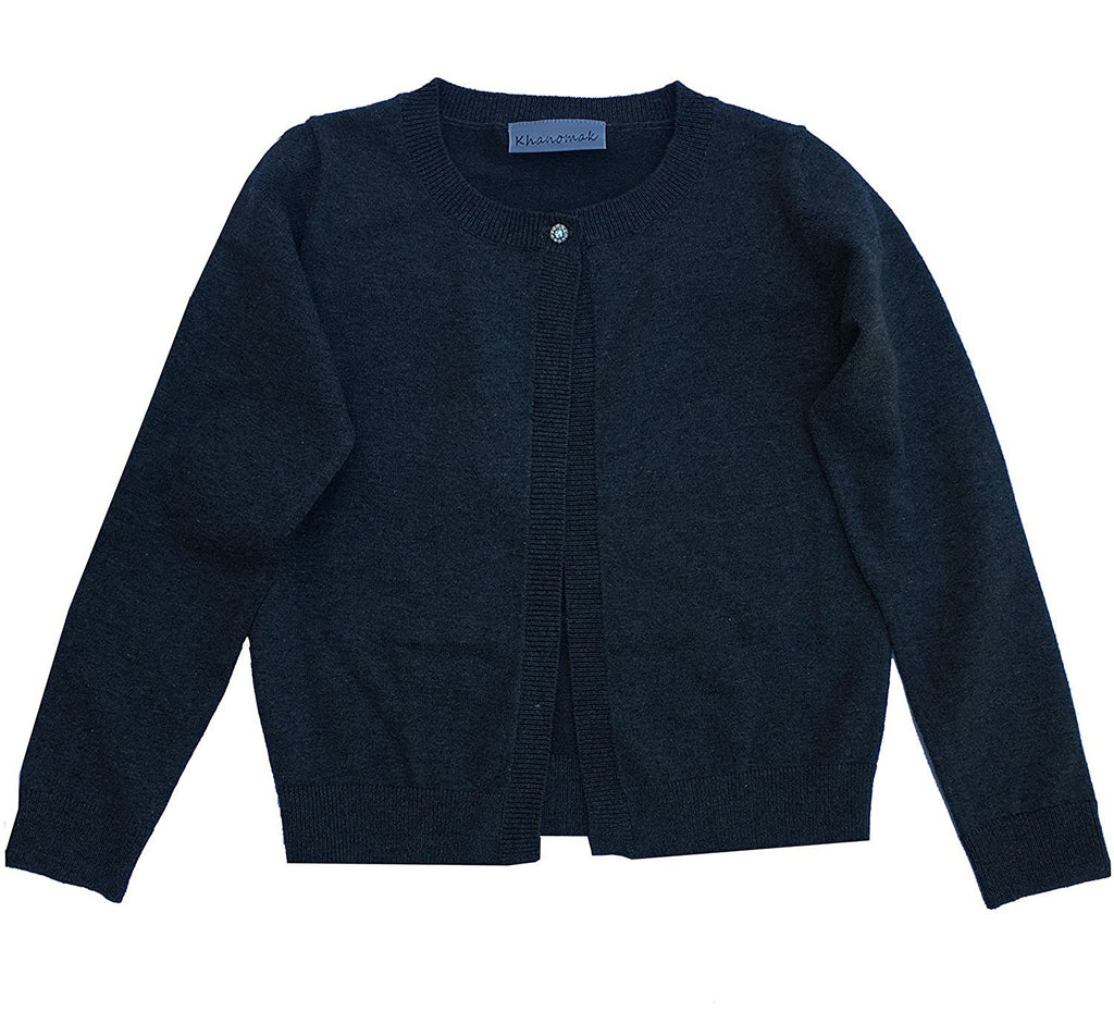Hollywood Star Fashion Khanomak Kids Girls Cropped Shrug Cardigan Sweater (Sizes 3T- 14 Yrs)