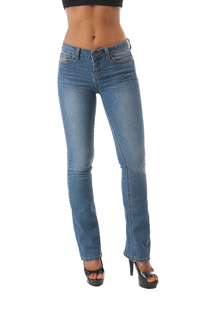 Hollywood Star Fashion Bootcut Wide Leg Denim Jean