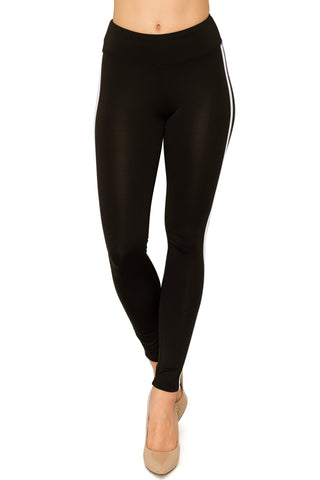 Women Tummy Fit Yoga Pants/Leggings Black - Small