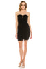 Women's Sexy Sleeveless Mesh Shirred Ruched Bodycon Cocktail Dress
