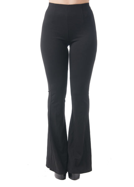 Khanomak Full Length Flare Leggings With Mesh On The Sides