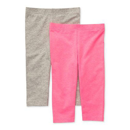 Khanomak Kids Girls Capris Crop Cotton Leggings