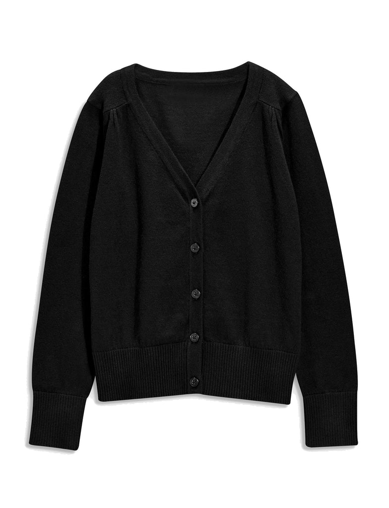 Khanomak Kids Girls V-Neck Cardigan