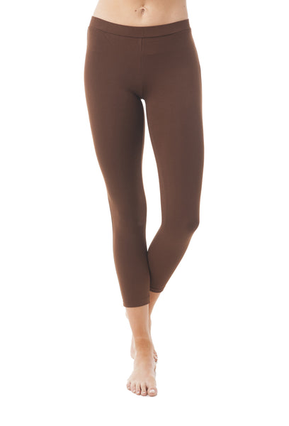 Khanomak Blend Capri Cropped Cotton Leggings