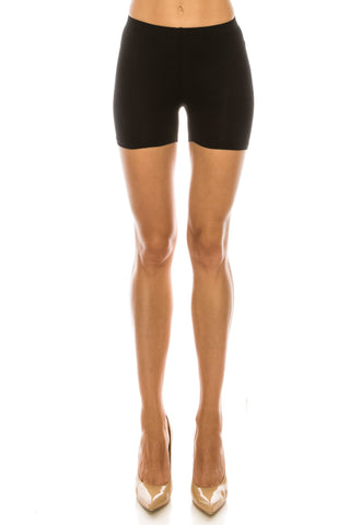 Women's Cotton blend biker shorts dance sports under garment