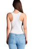 Hollywood Star Fashion Sleeveless Scoop Neck Bodysuit