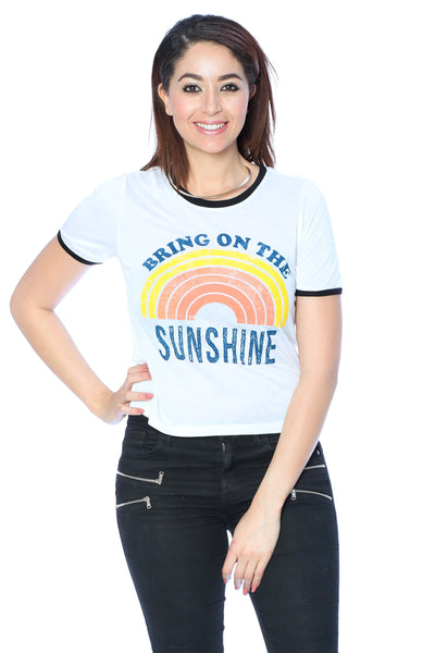 Khanomak Women's Sleeveless Shirt Tank Top Graphic Tee's Sunshine