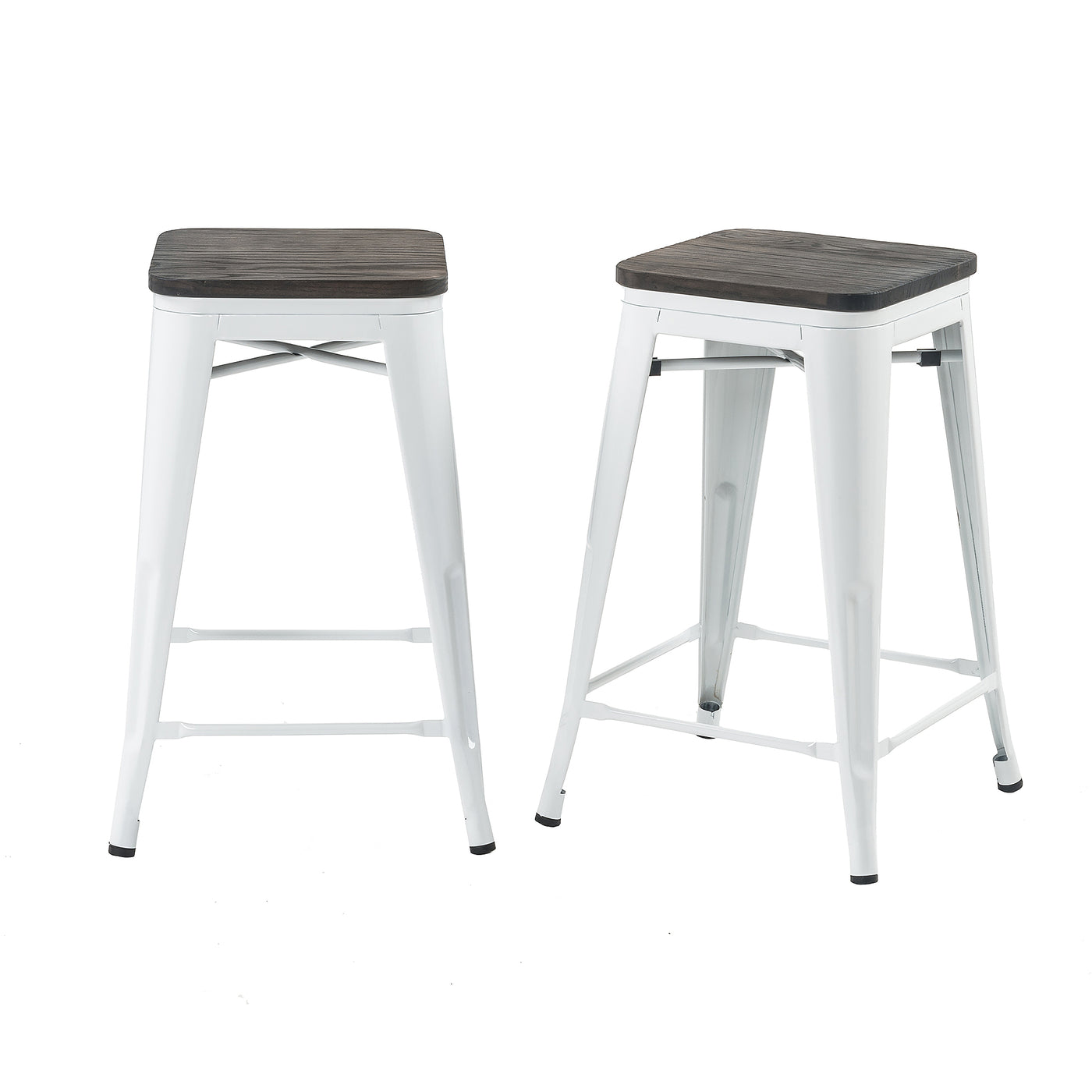 Outstanding Buschman Store Metal Bar Stools 24 Counter Height Indoor Ncnpc Chair Design For Home Ncnpcorg