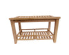 Buschman 30 Inches Asian Style Teak Shower Bench