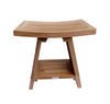 Buschman 18 Inches Asian Style Teak Shower Bench