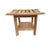 Buschman 24 Inches Original Teak Shower Bench with Shelf