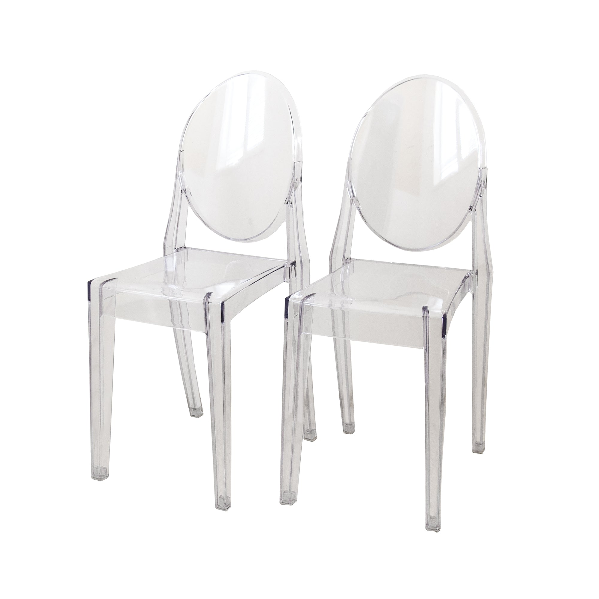 Admirable Set Of Four Transparent Contemporary Modern Dining Room Chairs Lounge Chairs Caraccident5 Cool Chair Designs And Ideas Caraccident5Info