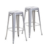 30 Inch Metal Bar Stools (Set of 2)