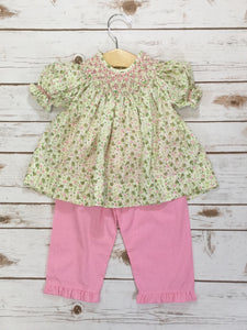 Sadie Smocked Pant Set