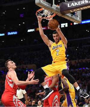 Los Angeles Lakers Larry Nance, Jr. rocks Leorever Mens Compression Tights