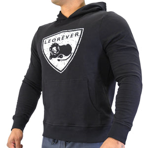American Cotton Fleece Hooded Sweatshirt