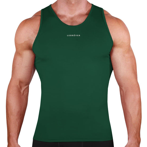 Mens Performance Tank Compression Shirt