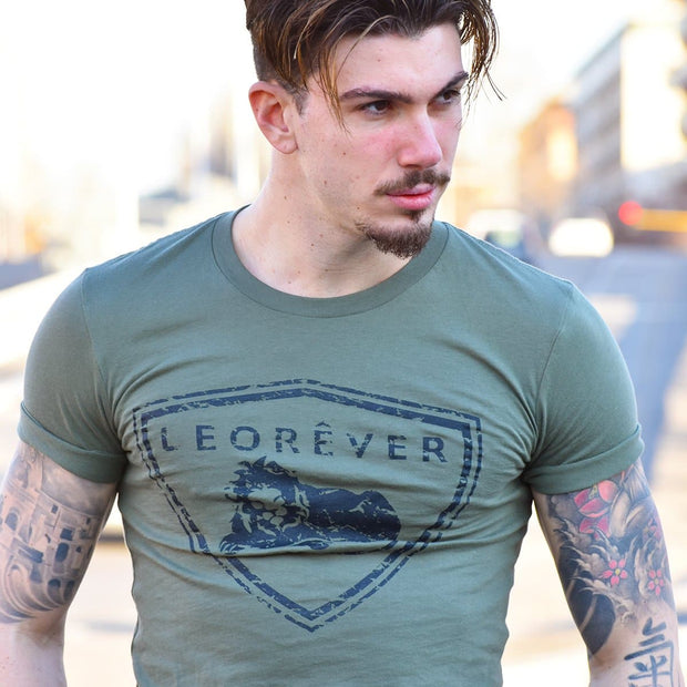Shield T-Shirt Military Green