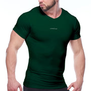 Mens Performance Short Sleeve Compression Shirt