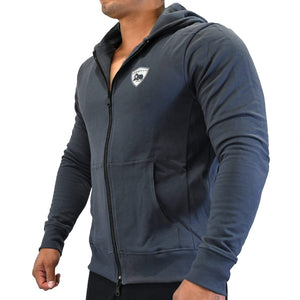 American Cotton Fleece Hooded Jacket