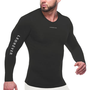 Mens Performance Long Sleeve Compression Shirt