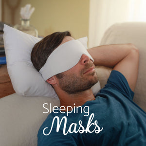 Luxury Travel Sleeping Mask Sets and Accessories