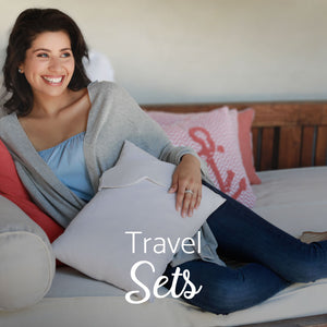 Luxury Travel Sets and Accessories; Wraps, Blanket, Scarf, Pillow and Sleeping Mask
