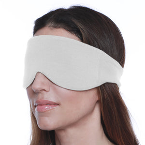 Sleep Mask for Women and Men (Silver Gray) | HappyLuxe