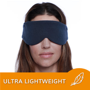 Sleep Mask for Women and Men (Navy Blue) | HappyLuxe