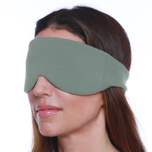 Sleep Mask for Women and Men (Sage Green) | Happyluxe