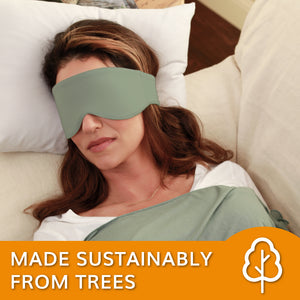 The Escape Sleep Mask for Women and Men (Sage Green)