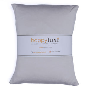 Small Pillow in Cool Gray - HappyLuxe