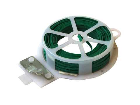 NoName Plant Support Twist Tie Wire Dispenser w/ Cutter 66' 15035