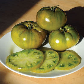 Tomato - Green Cherokee Tomato Seed Pack (Solanum lycopersicum)