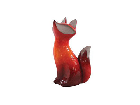 GardenStar Ceramic Decorative Figure Fox Sitting 22720