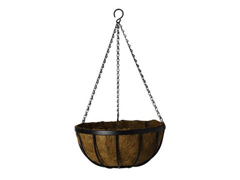 "GardenStar Hanging Basket Deluxe 14"" With Liner 22725"