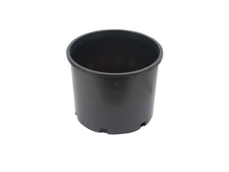 "International Nursery - Plastic Plant Pot - Round Hard 10 Gallon 18x12"" 1008"