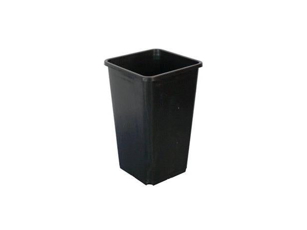 FHD Plastic Pot - Square 0.5 Gallon 4.75x4.75x8""