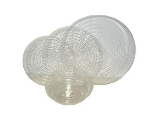 "Grotek Saucer Clear 12"" - Good for Our 3Gallon Round Pots 1022"