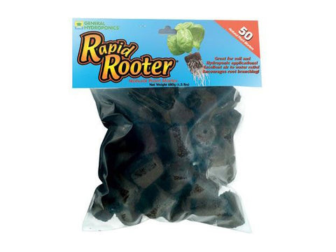 Rapid Rooter by General Hydroponics Rooting Plugs 50/pack